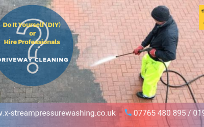 Why Hire Professionals For Driveway Cleaning Instead Of Trying A DIY